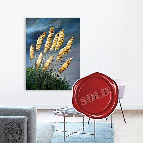 The Golden Toi Toi - Original Painting