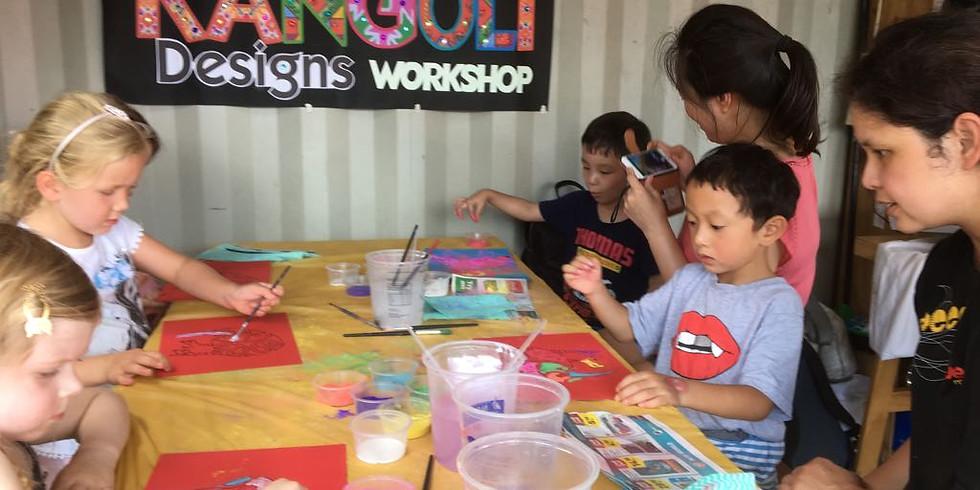 Rangoli Workshop @ Auckland Diwali Festival 2020