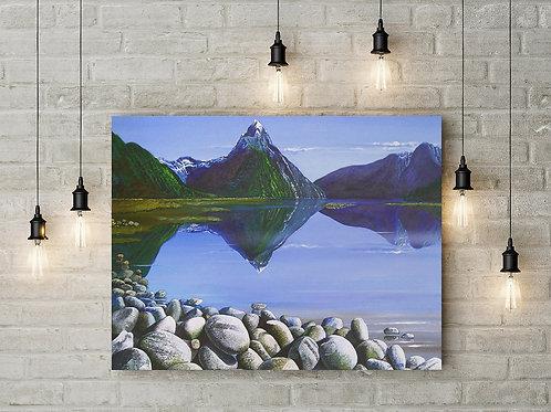 Mitre Peak -Original Painting