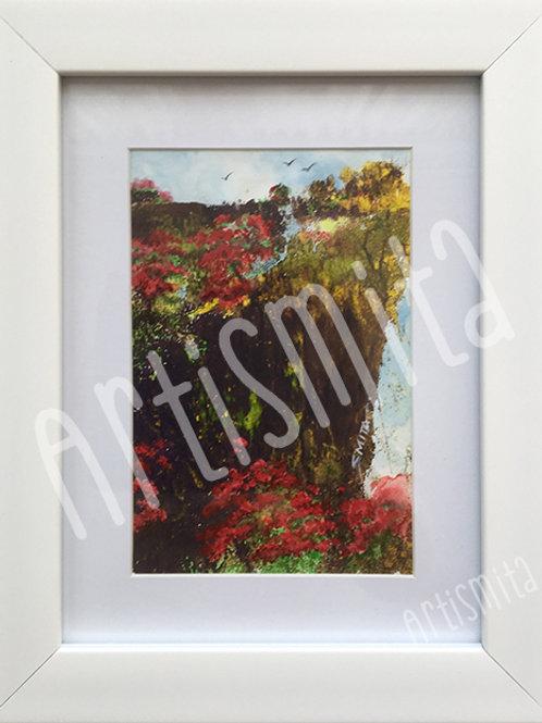 Red Blossom - Framed Print