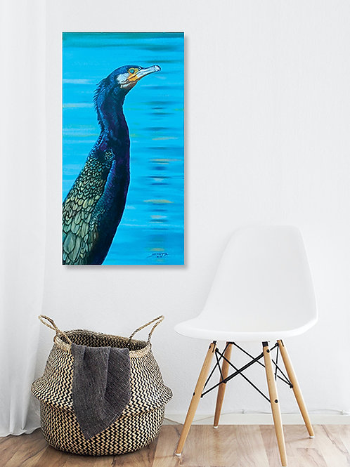 The Black Shag - Original Painting