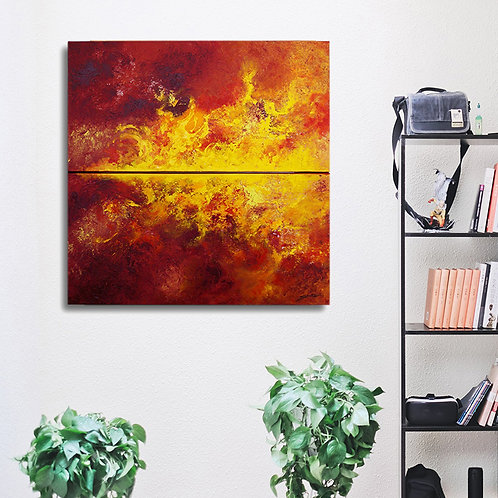The Blaze - Original Paintings