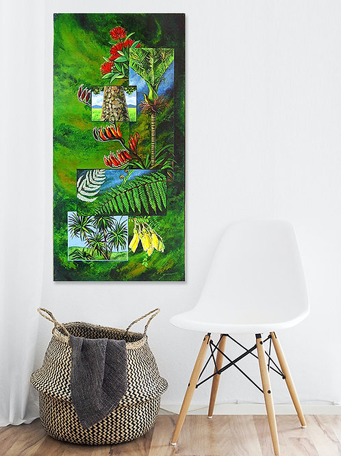New Zealand's Green Treasure - Original Painting