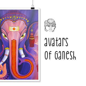 Artismita-avatars-of-ganesh-Smita-Upadhy