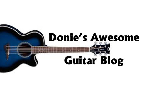 Welcome to Donie's Awesome Guitar School!