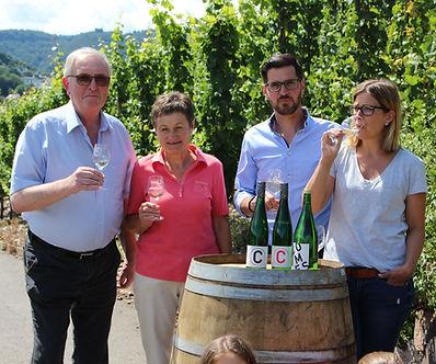 Familie Comes Klotten Wein Weinberg