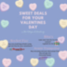 Pastel Candy Hearts Valentines Day Insta
