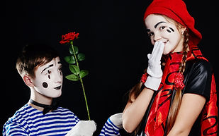 children-mime-group-photo-pantomime-various-emotions-children-s-face-baby-french-clown-wit