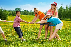 הפעלה ספורטיבית לילדים עם שמח הפקות