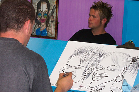 קריקטוריסטים איכותיים בשמח הפקות