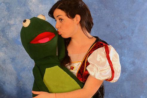 הנסיכה והצפרדע- הצגה לילדים