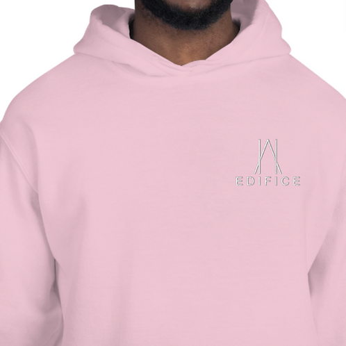 Pastel edition embroidered EDIFICE hoodie