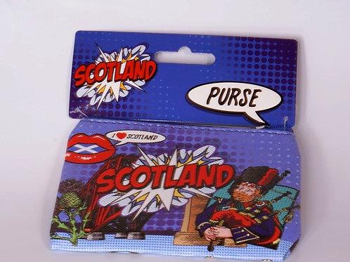 Scotland Popart Coin Purse