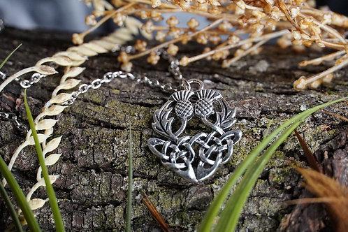 Double Celtic Knot Thistle