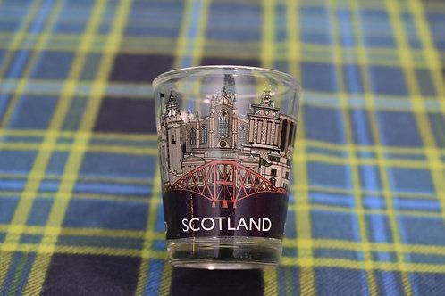 Scotland Landmark Shotglass
