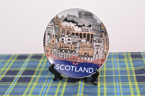 "Scotland Landmark Plate (15cm/6"")"