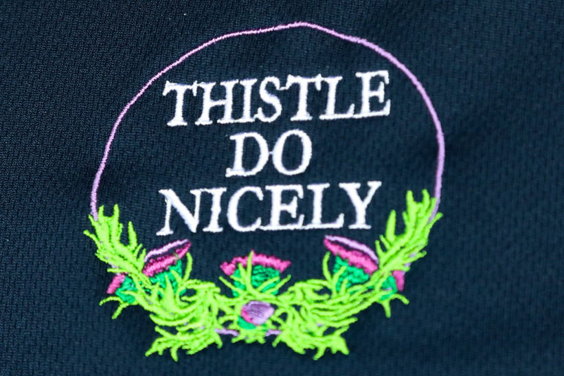 Love the embroidered logo
