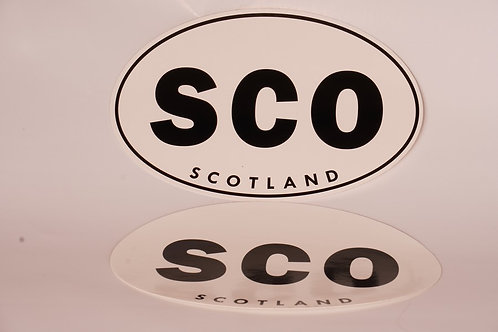 Scotland Bumper Sticker (Framed or Unframed)