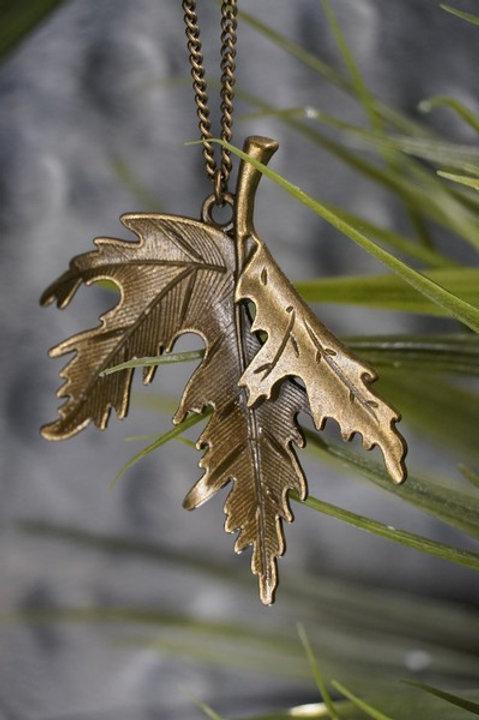 Large Maple Leaf Necklace