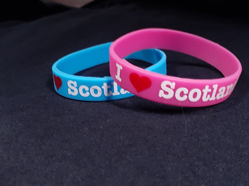 (2) I love Scotland Bracelets