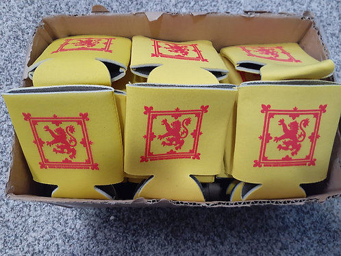 (200) Can cooler / Coozies Lion Rampant / Saltire