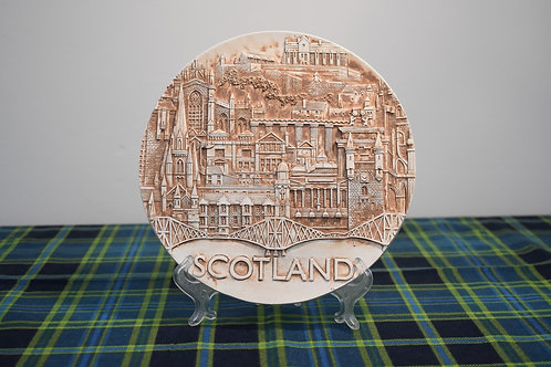 21cm Scotland Landmark Plate (Resin)