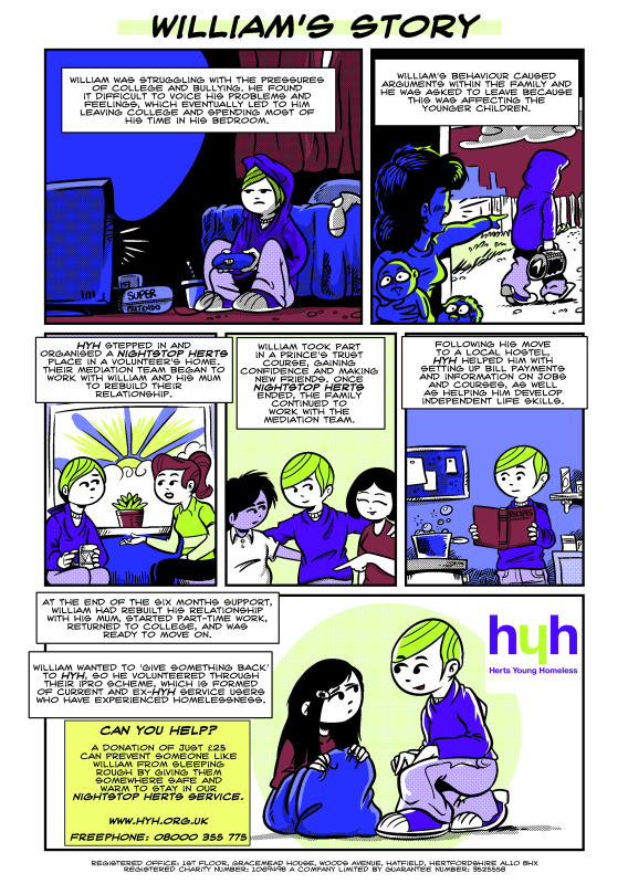 Charity Comic