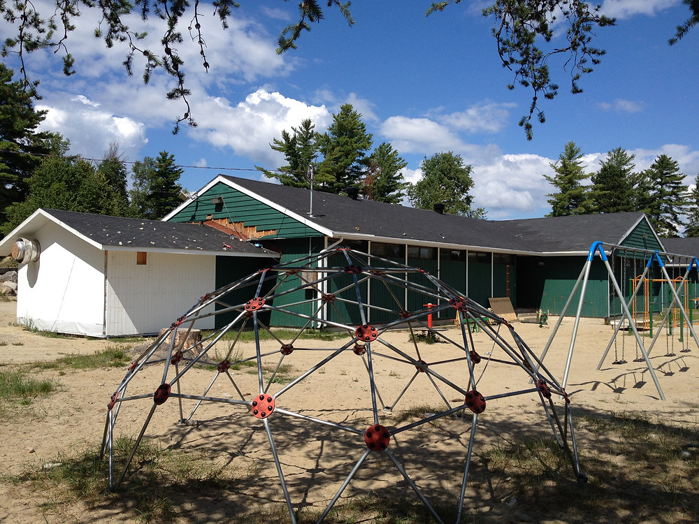 Kitiganik School in Rapid Lake