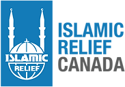 IR White logo - blue background - with n