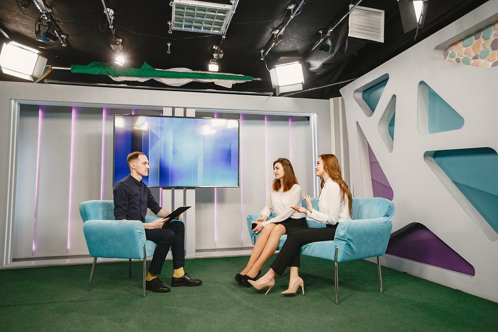 entrevista em estúdio