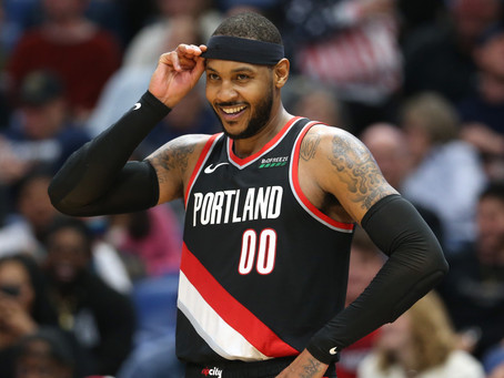 I'm Pulling for Carmelo Anthony