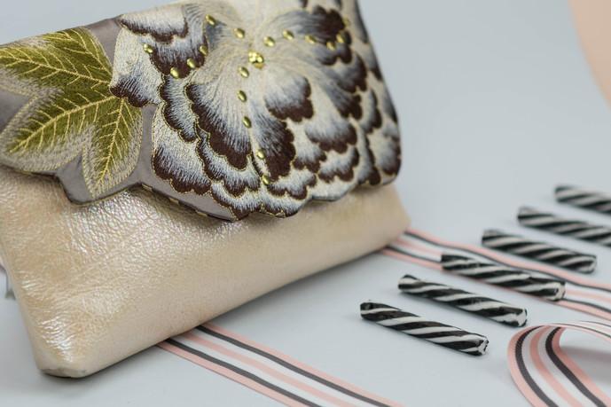 Kimono Clutch Pearl