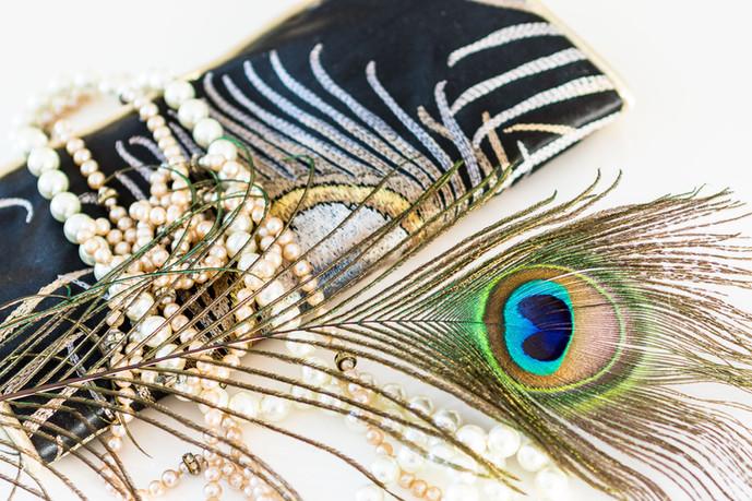 Makeba Jewellery Roll Noir