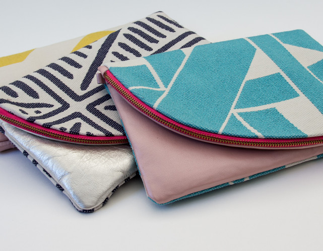 Leather Clutch Bags Miami Collection