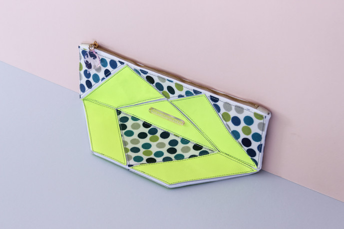 Origami Petit Pois Cornflower Travel Bag