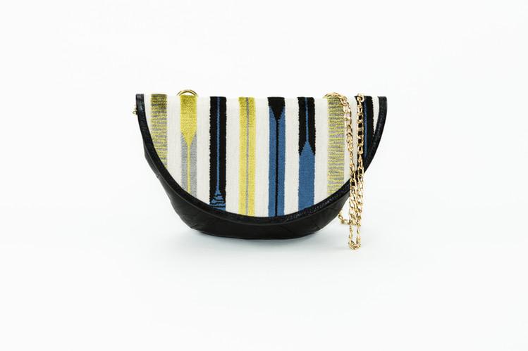 Kandinsky Saddle Bags - Mustard/Blc
