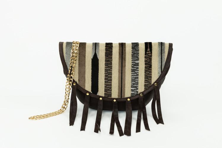 Kandinsky Tasseled Saddle - Coco