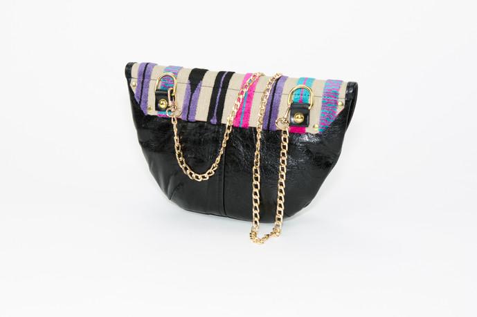 Kandinsky Saddle Bag - Peacock
