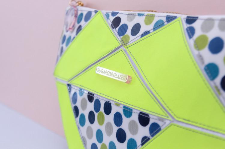 Origami Petit Pois Cornflower Travel Bag