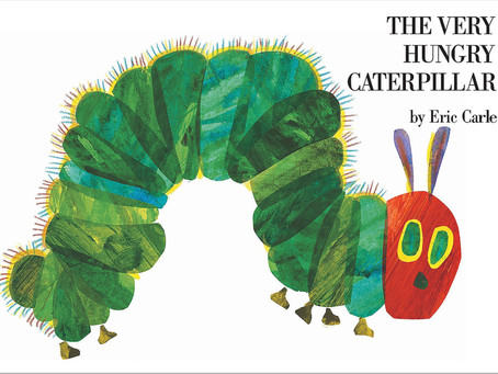 Oh the joy Eric Carle gave us all!!