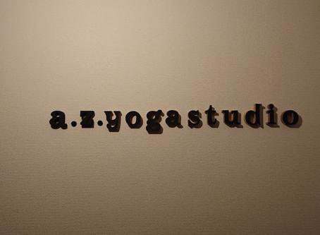 a.z.yogastudioは1周年を迎えました