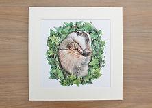 Badger by Chloe O'Neil