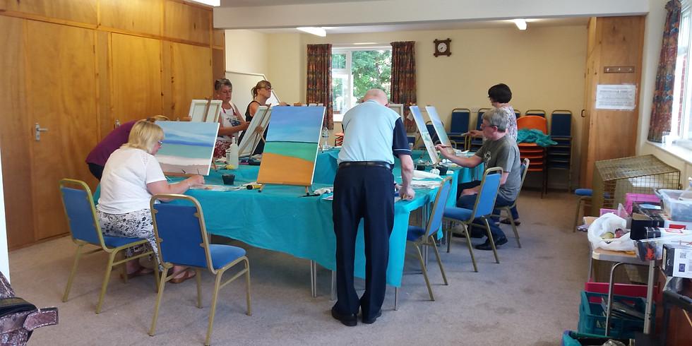 Penkridge Art Class - 30th September