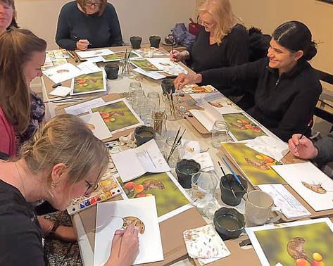 76f383d0 Garden Bumblebee Watercolour Workshop - 11th May 2019