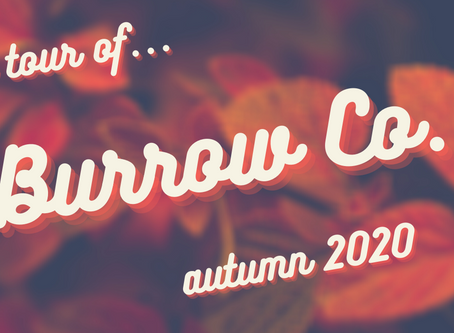 A Tour of Burrow Company {autumn 2020
