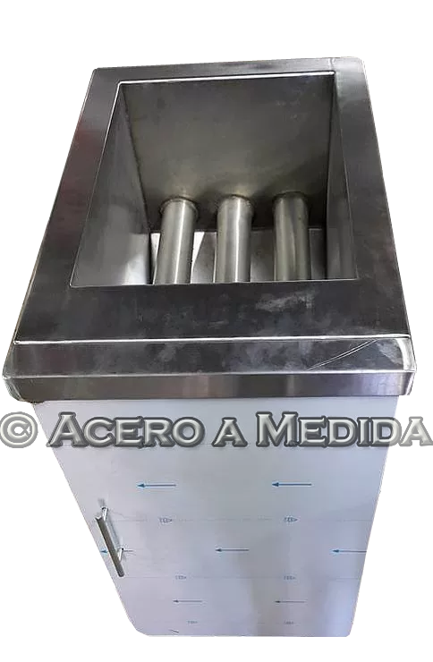 Freidora Industrial Acero Inoxidable