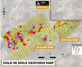 Arbor Metals Extends Gold Trend at Rakounga Gold Project, West Africa