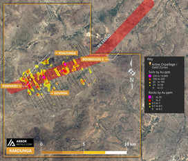 ARBOR METALS PLANS PHASE TWO EXPLORATION AT THE RAKOUNGA GOLD CONCESSION, BURKINA FASO, WEST AFRICA