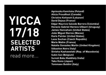 YICCA 17/18 International Contest of Contemporary  Art                              Horacio Herrera