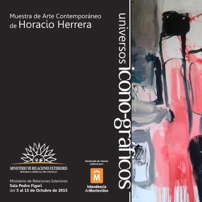 Icon - Graphics Contemporary art exhibition Ministry EERR Montevideo-Uruguay 2015  Declared of cultu